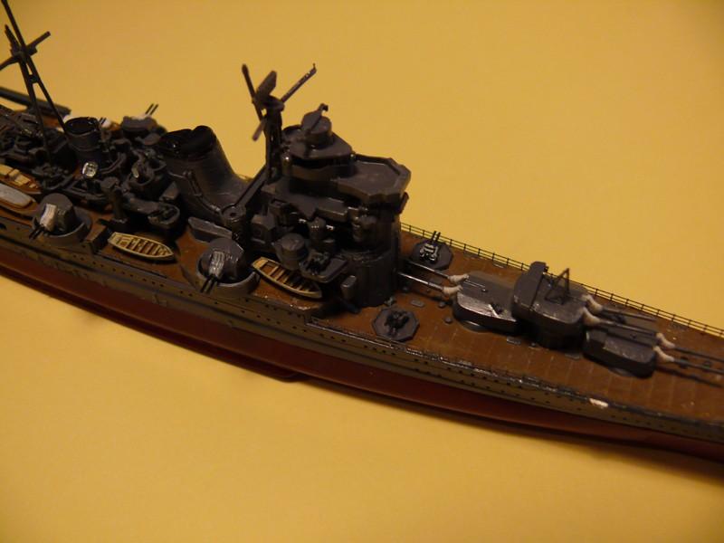 IJN ASHIGARA par Yuth au 1/700 - Hasegawa 710