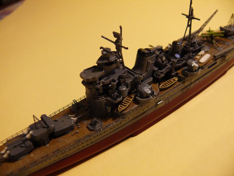 IJN ASHIGARA par Yuth au 1/700 - Hasegawa 810