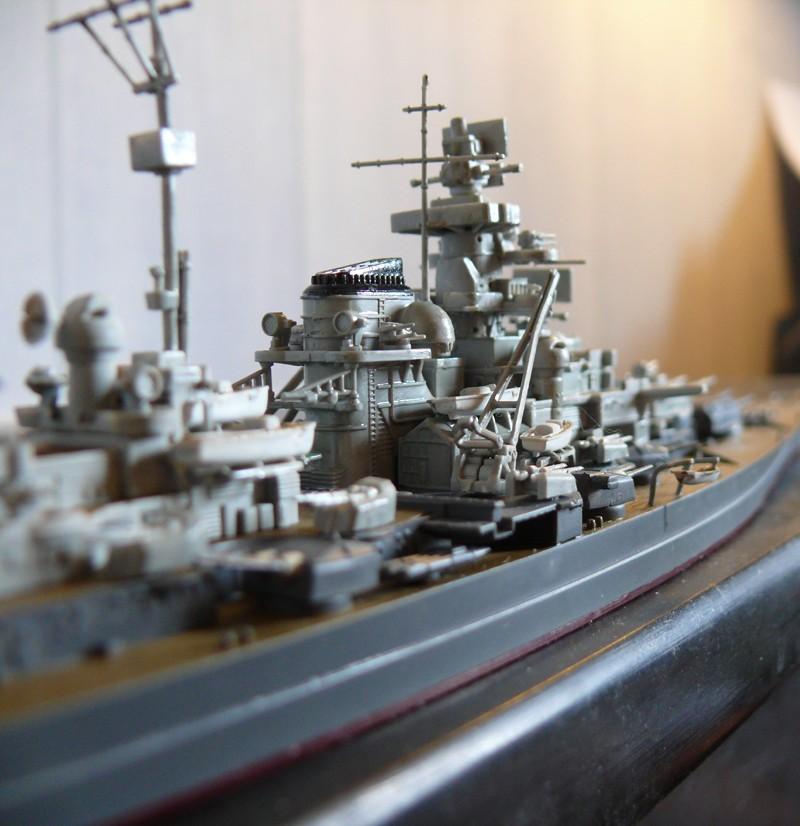 tirpitz - DKM Tirpitz 1944 par Yuth au 1/700 - trumpeter Tirpit12