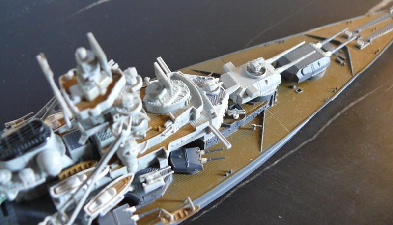 tirpitz - DKM Tirpitz 1944 par Yuth au 1/700 - trumpeter Tirpit15