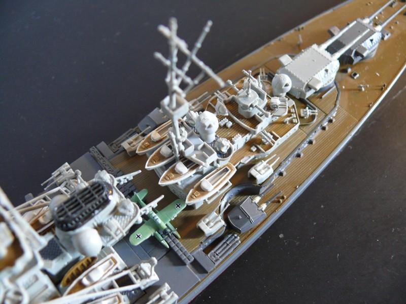 tirpitz - DKM Tirpitz 1944 par Yuth au 1/700 - trumpeter Tirpit17
