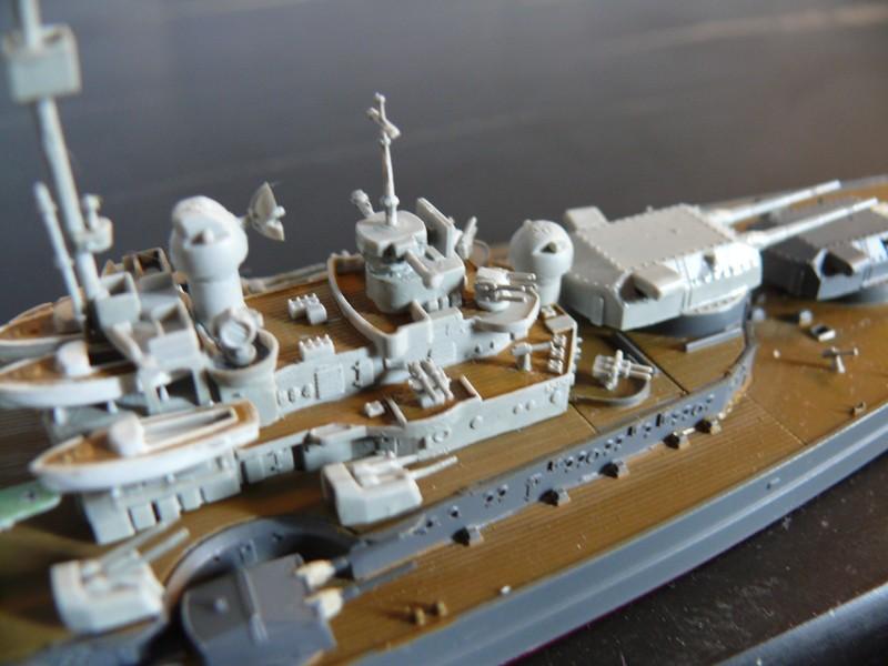 tirpitz - DKM Tirpitz 1944 par Yuth au 1/700 - trumpeter Tirpit19