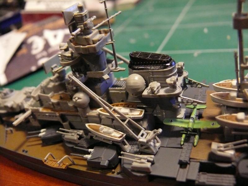 tirpitz - DKM Tirpitz 1944 par Yuth au 1/700 - trumpeter Tirpit21