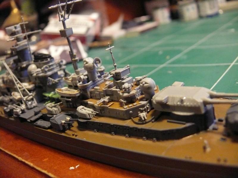 tirpitz - DKM Tirpitz 1944 par Yuth au 1/700 - trumpeter Tirpit22
