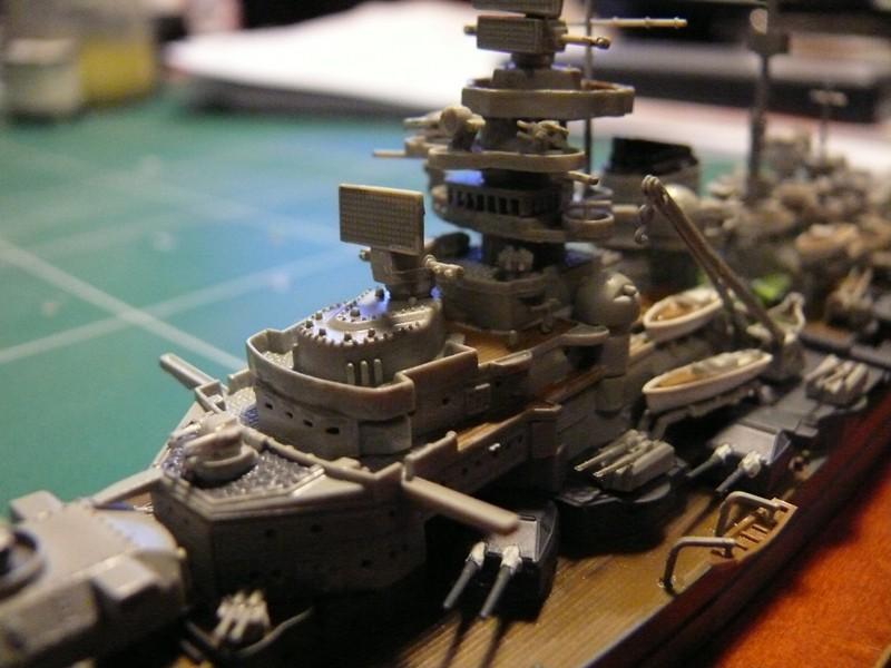 tirpitz - DKM Tirpitz 1944 par Yuth au 1/700 - trumpeter Tirpit23