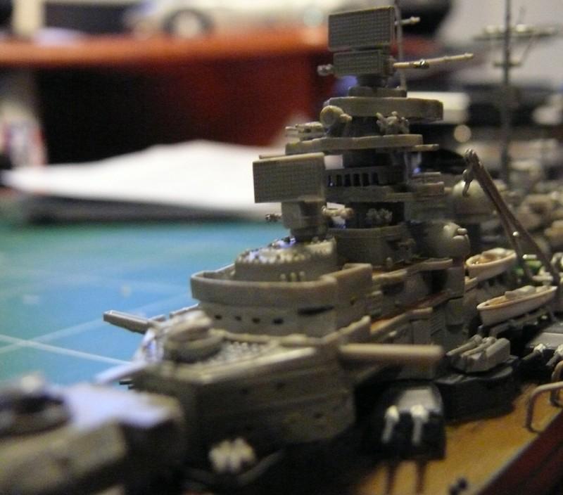 tirpitz - DKM Tirpitz 1944 par Yuth au 1/700 - trumpeter Tirpit25