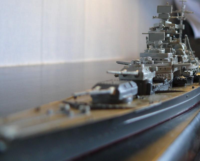 tirpitz - DKM Tirpitz 1944 par Yuth au 1/700 - trumpeter Tirpit26