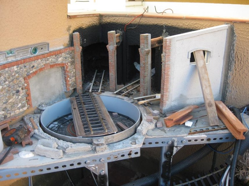 Construcció d'una rotonda i el seu pont giratori-(FFCC de la Terrassa) Img_8513