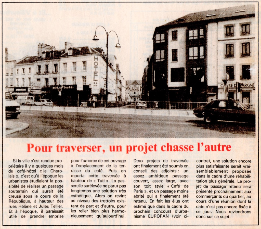 Havre - Le Havre - Hôtel Charolais de la famille LIHRMANN au Rond-Point 1992-112