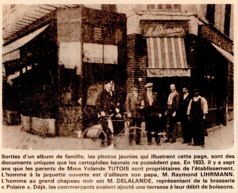 Havre - Le Havre - Hôtel Charolais de la famille LIHRMANN au Rond-Point 1992-113
