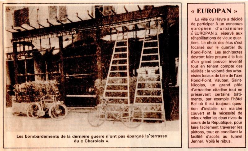 Havre - Le Havre - Hôtel Charolais de la famille LIHRMANN au Rond-Point 1992-114