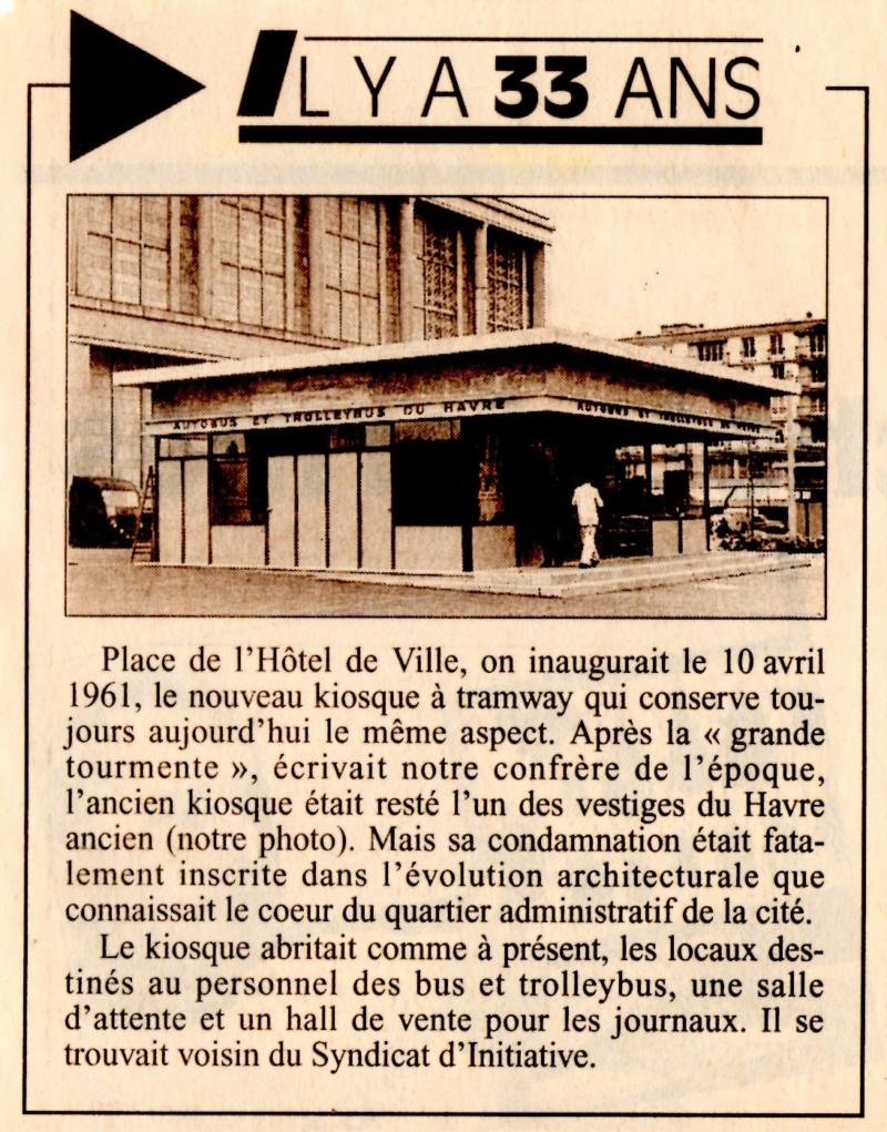 1961 - Paquebot Liberté, Kiosque tramway 1994_k10