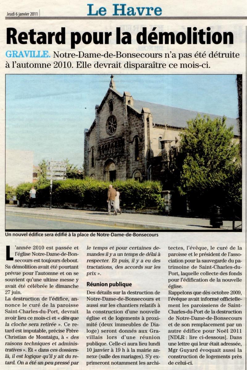 Havre - Le Havre - Eglise Notre-Dame-de-Bonsecours (Graville) 2011-012