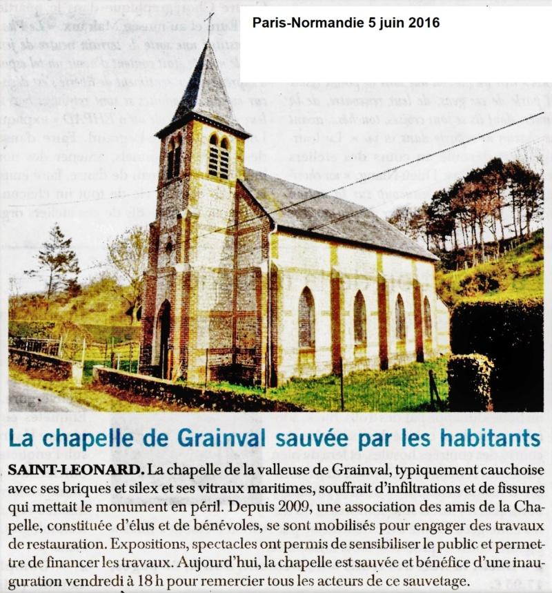 Saint-Léonard - La chapelle de la valleuse de Grainval 2016-012
