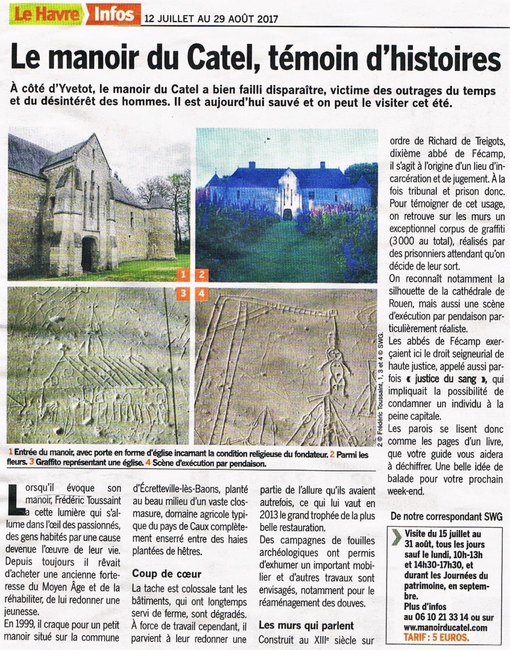 Ecretteville-lès-Baons - Le manoir du Catel 2017-036