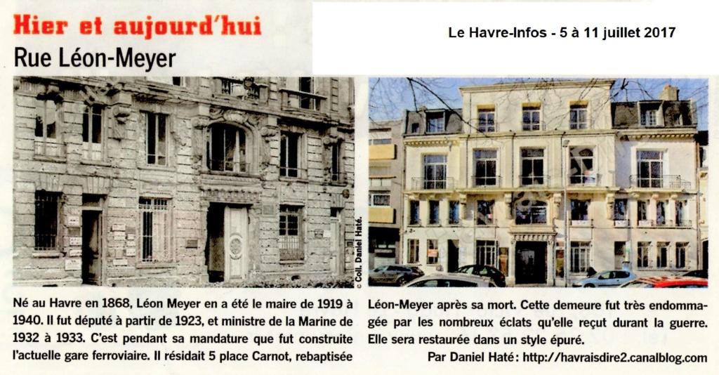 Havre - Le Havre - Rue Léon Meyer 2017-042