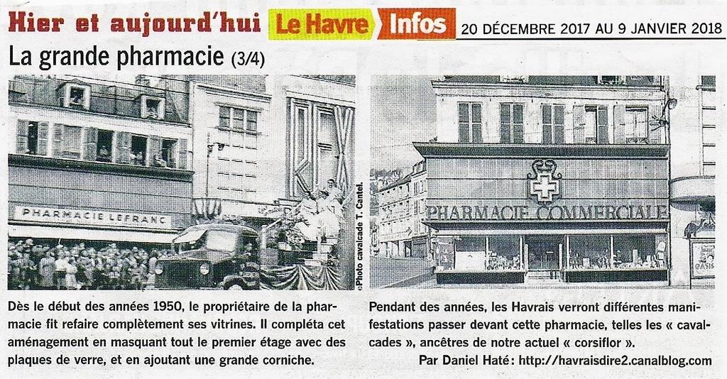 Havre - Le Havre - La grande pharmacie rue Thiers  2017-110