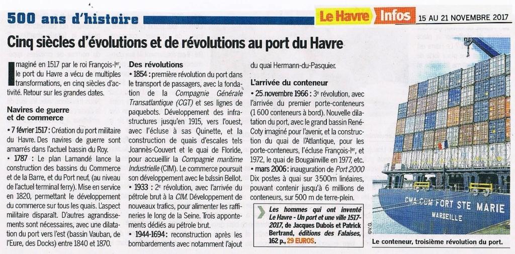 Cinq siècles d'évolutions au port du Havre 2017-130