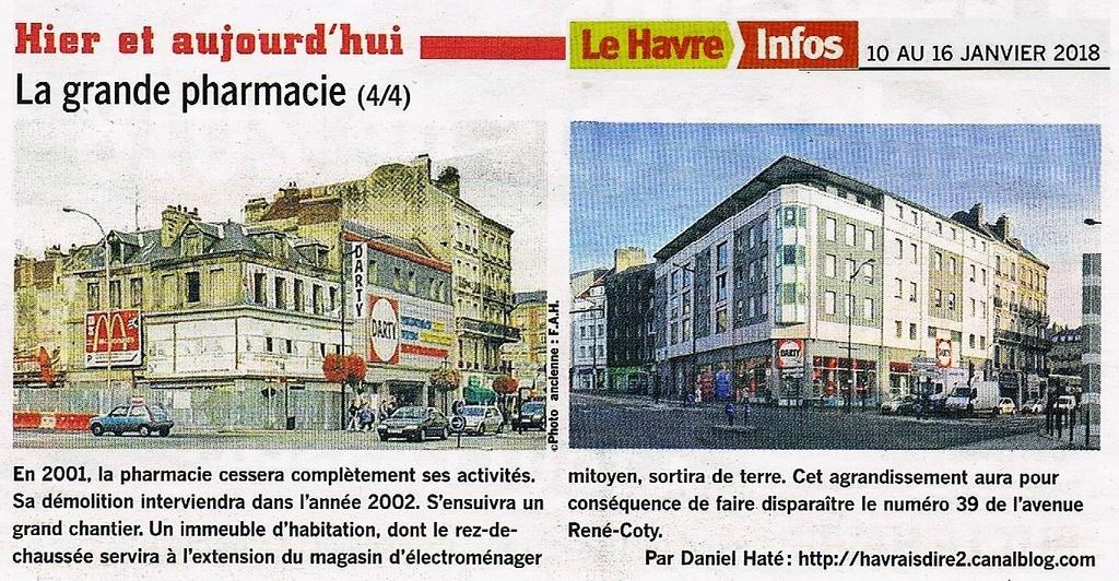Havre - Le Havre - La grande pharmacie rue Thiers  2018-013