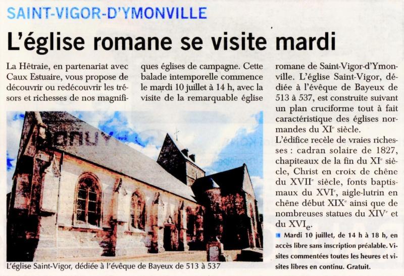 Saint - Eglise romane de Saint-Vigor-d'Ymonville 2018-025