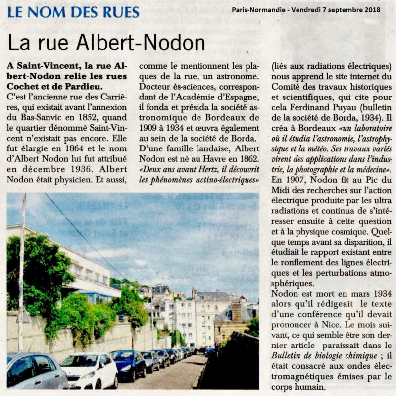 Saint - Le Havre - Rue Albert Nodon (Saint-Vincent) 2018-037