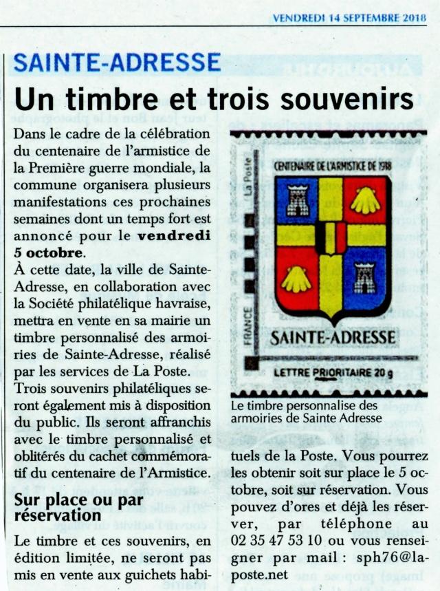Sainte-Adresse - Un timbre et trois souvenirs 2018-045