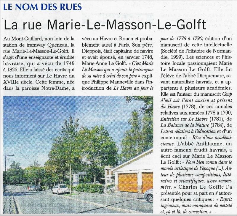 Havre - Le Havre - Rue Marie Le Masson Le Golft (Mont-Gaillard) 2018-088