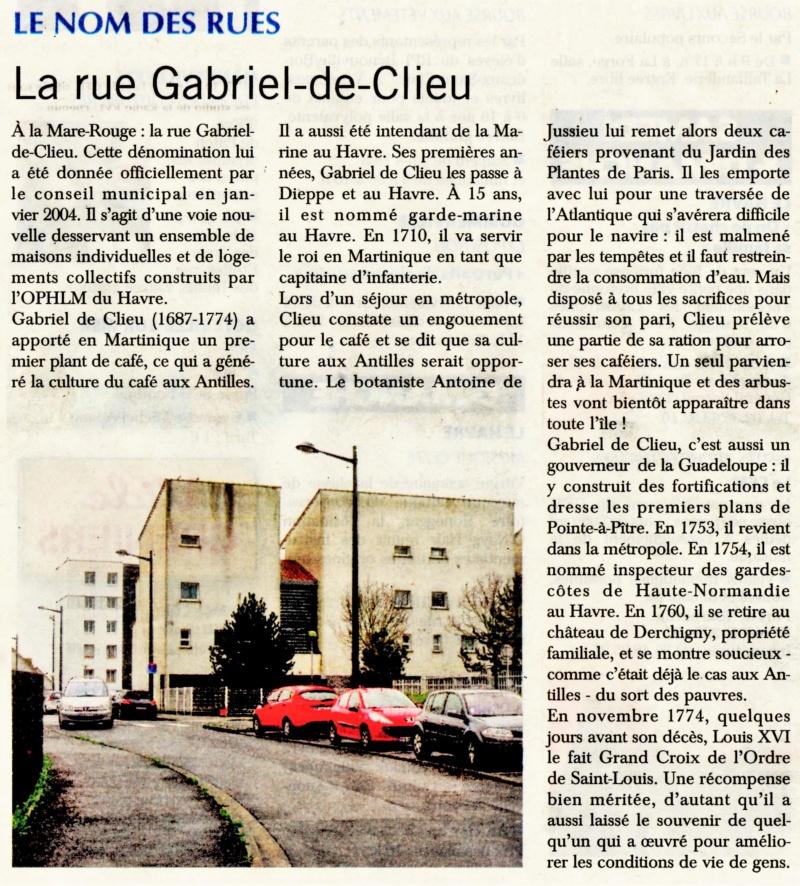 Havre - Le Havre - Rue Gabriel de Clieu (Mare Rouge) 2018-090