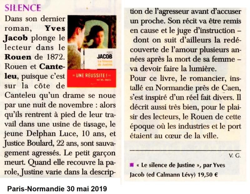 Canteleu et Rouen de 1872 dans un roman de Yves JACOB 2018-103