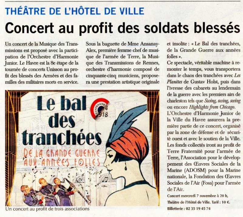 Havre - Concert au profit des soldats blessés au Havre 2018-119