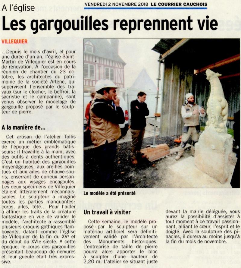 Villequier - Les gargouilles reprennent vie 2018-124