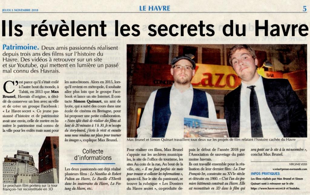 Havre - Le Havre secret par BRUNEL et QUINART 2018-138