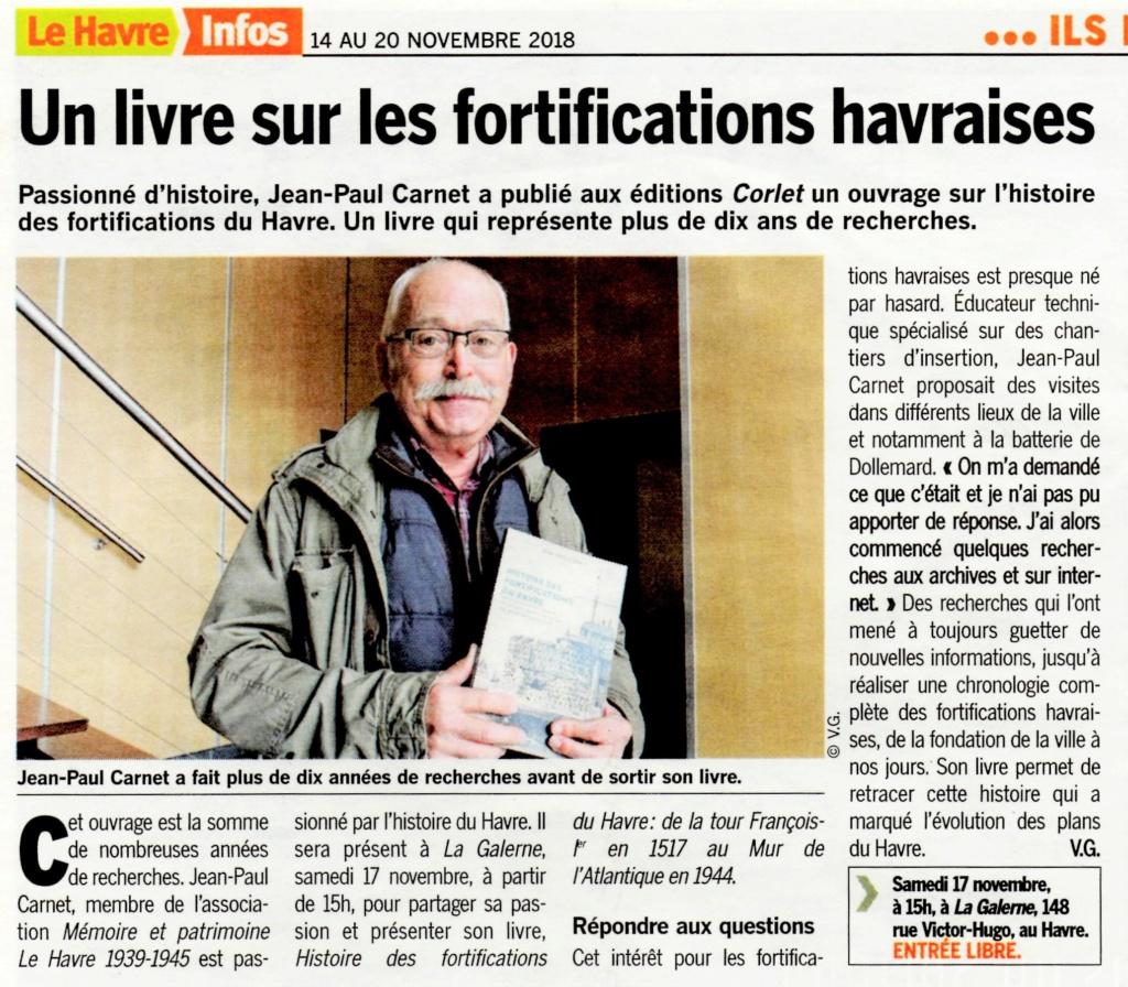 Havre - Histoire des fortifications du Havre par Jean-Paul CARNET 2018-140