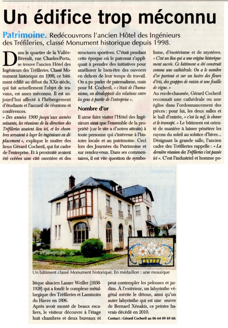 Havre - L'ancien Hôtel des Ingénieurs des Tréfileries au Havre 2018-170