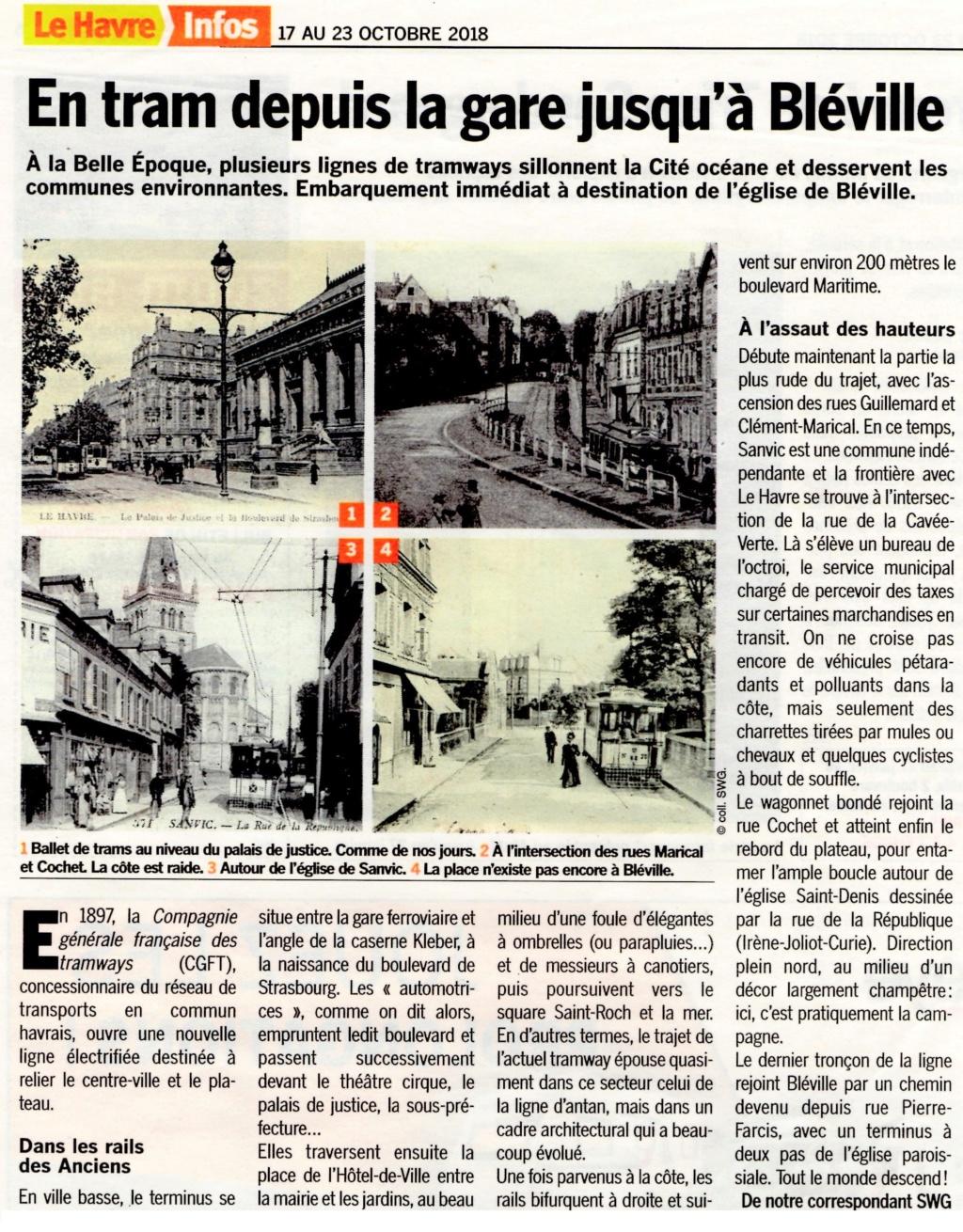 bléville - En tramway depuis la gare jusqu'à Bléville 2018-184