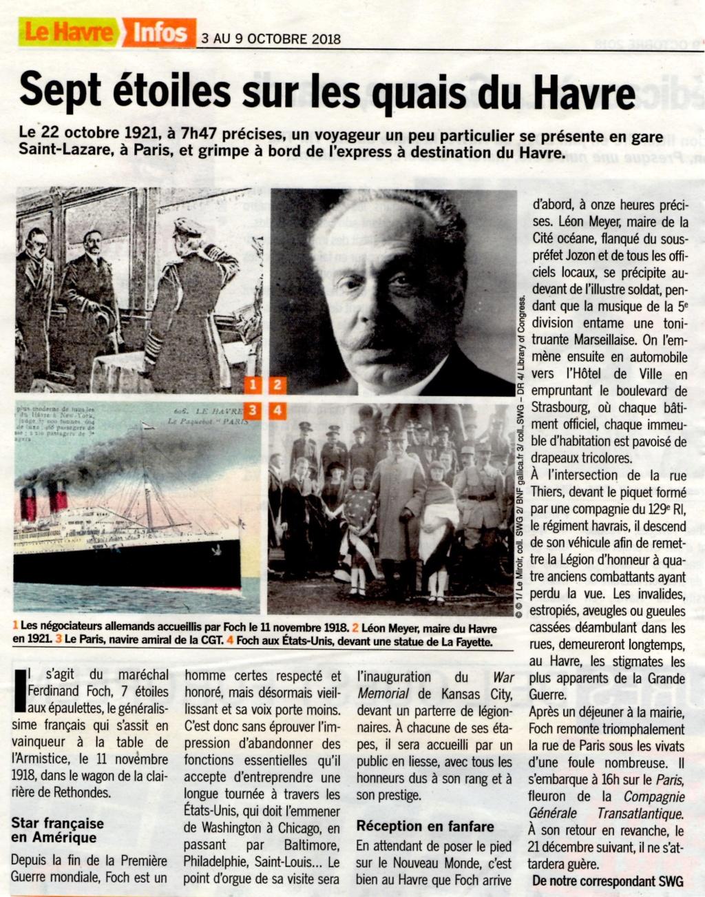 Maréchal FOCH au Havre en 1921 2018-192