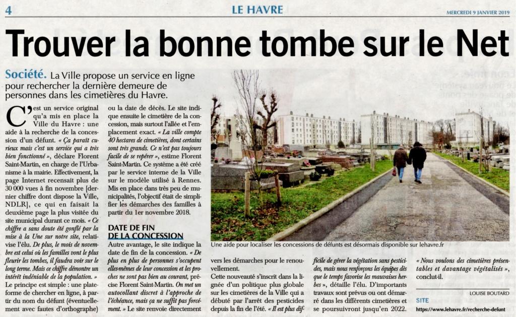 Havre - Site internet - Trouver la bonne tombe et le bon cimetière au Havre 2019-026