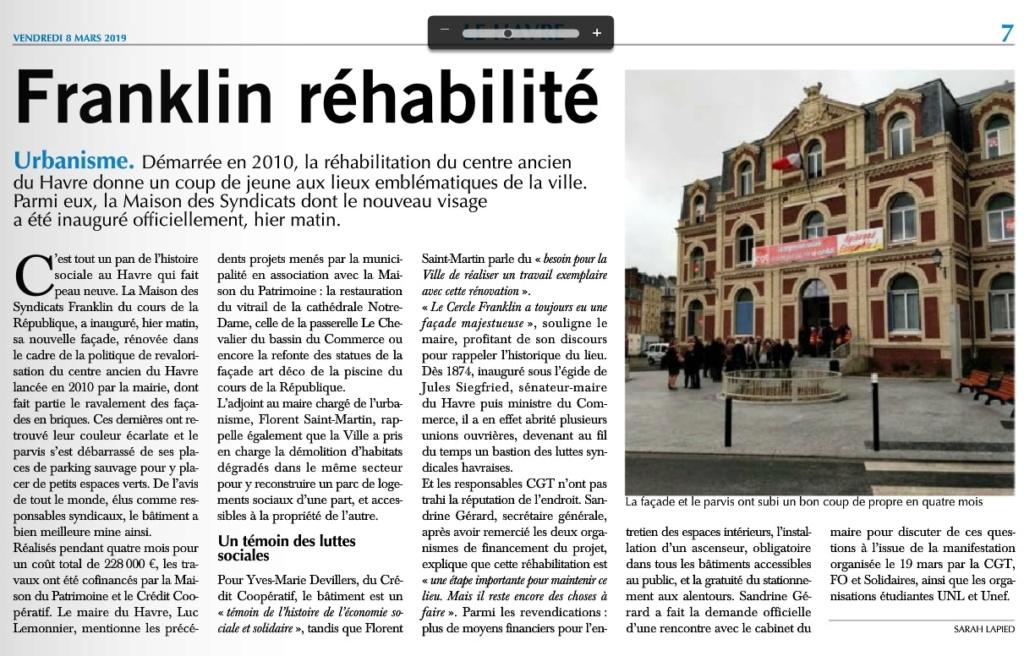 Havre - Le Havre - Cercle Franklin ou Maison des Syndicats 2019-046