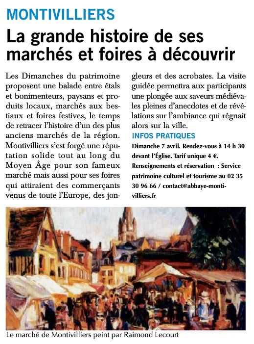 Montivilliers - La grande histoire de ses marchés et foires 2019-053