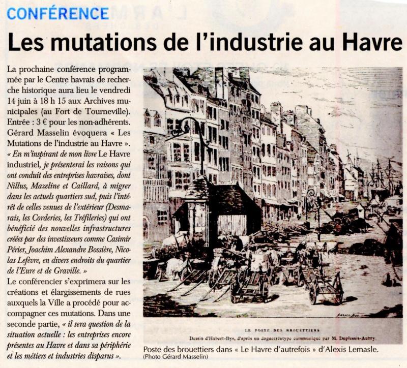 Les mutations de l'industrie au Havre par Gérard MASSELIN (CHRH) 2019-095