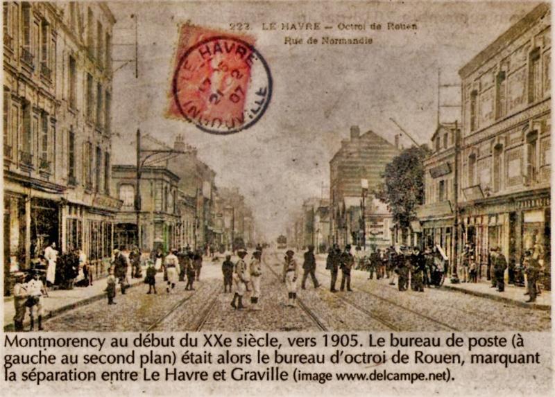 Havre - Le Havre - Octroi de Rouen rue de Normandie Montmorency 2019-123