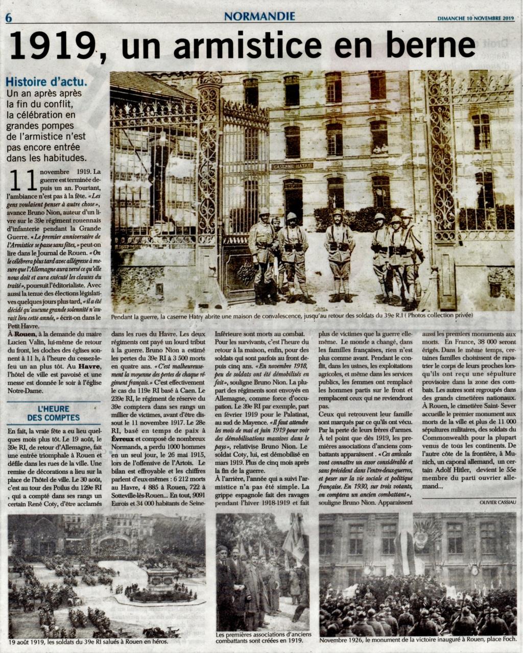 1919, un armistice en berne 2019-128