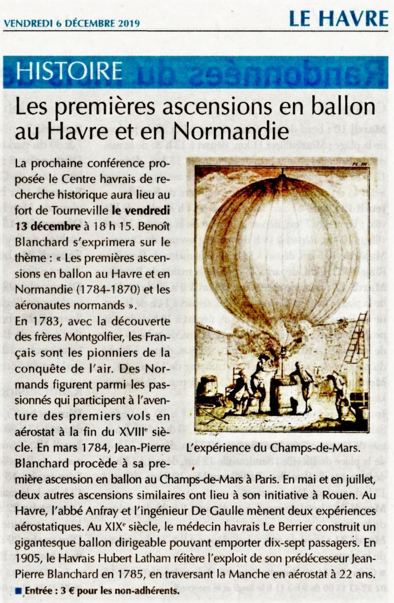Les premières ascensions en ballon au Havre et Normandie (conférence CHRH - Benoît BLANCHARD) 2019-136