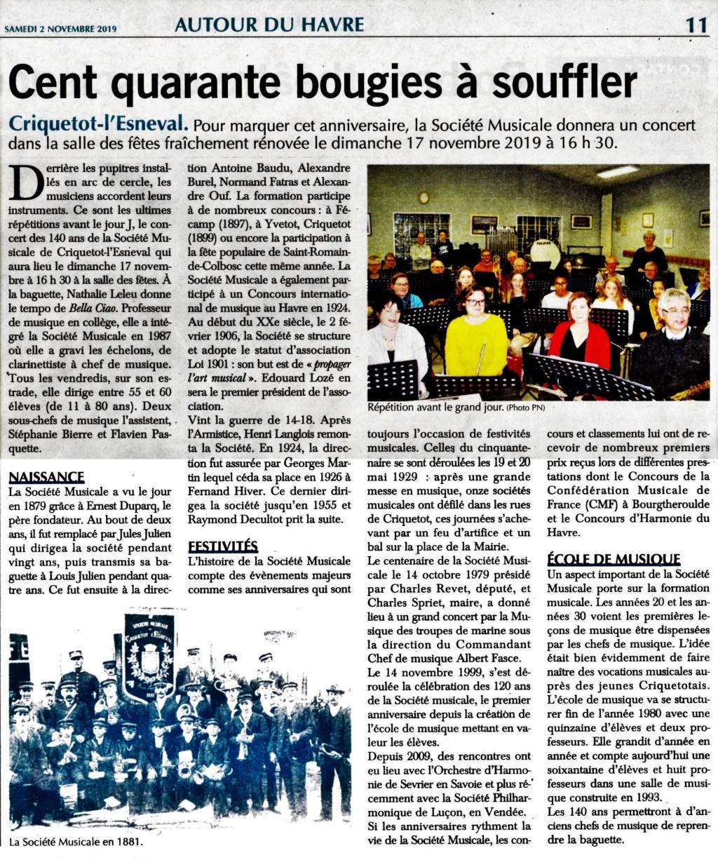 criquetot - La Société Musicale de Criquetot-l'Esneval depuis 1879 2019-143
