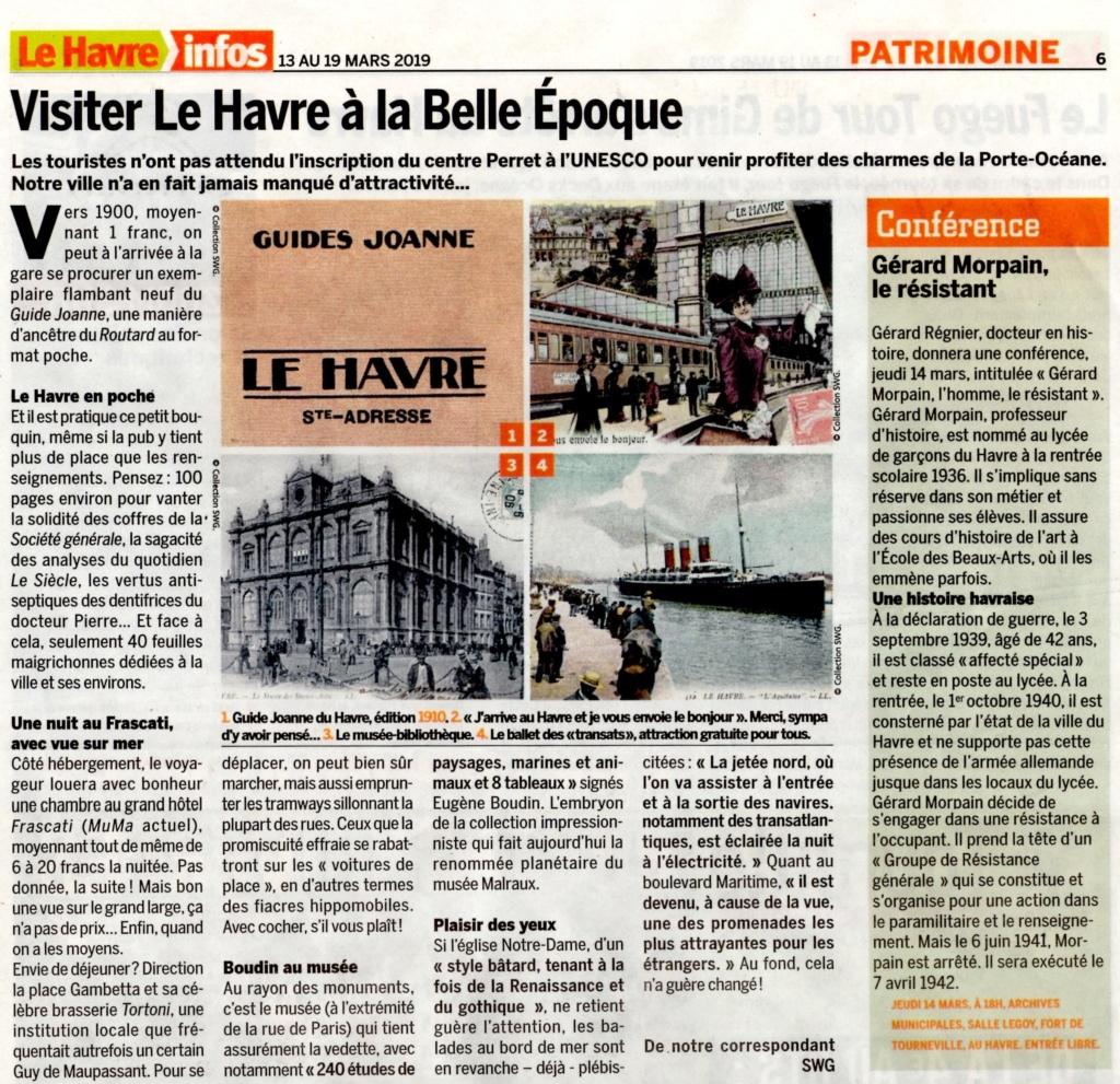 Havre - Visiter Le Havre à la Belle Epoque 2019-159