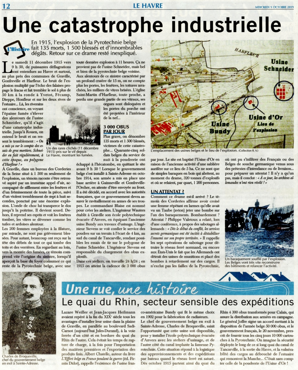 Usine d'Or - L'explosion de la pyrotechnie belge en 1915 2019-220