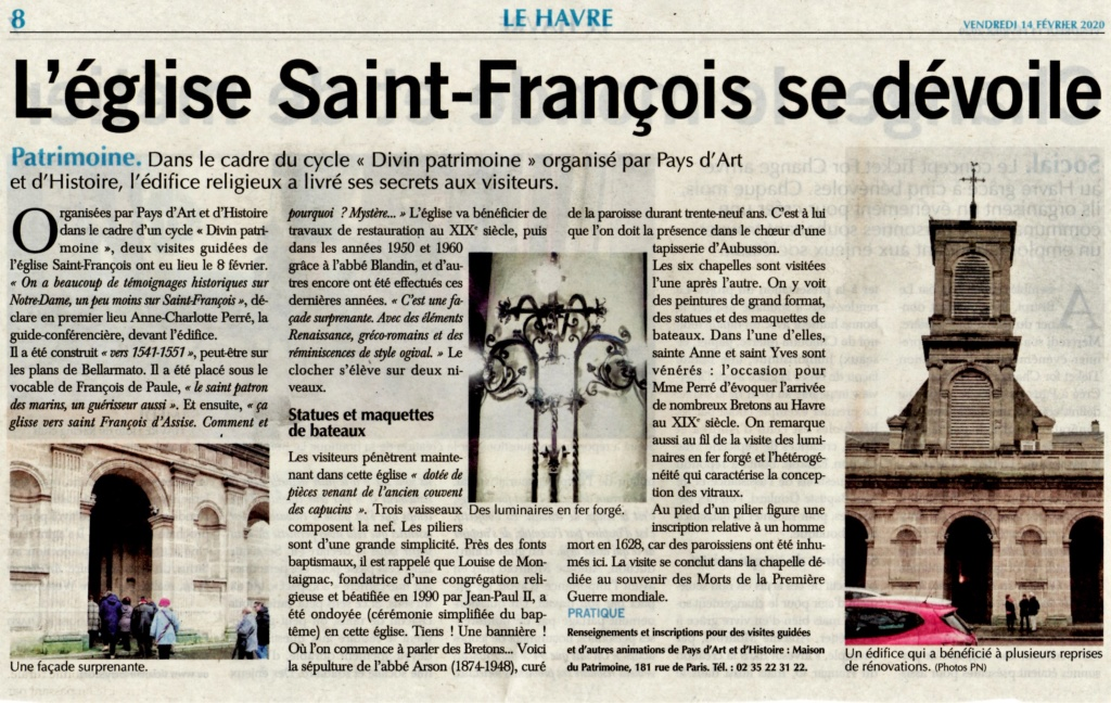 Saint - Le Havre - Eglise Saint-François 2020-019