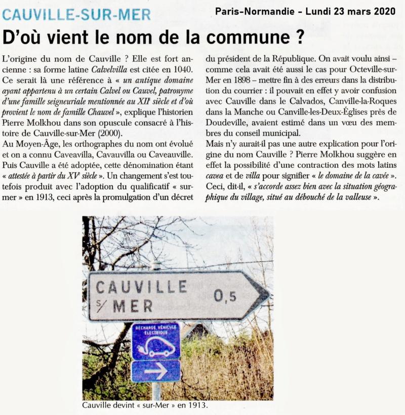 Histoire des communes - Cauville-sur-Mer 2020-029