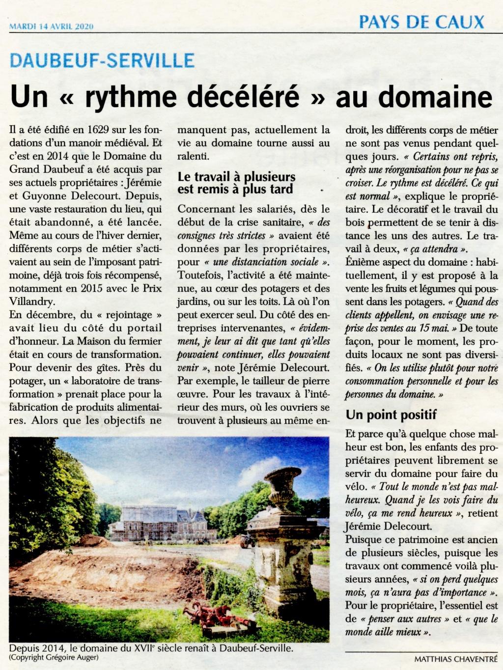 Daubeuf-Serville - Domaine du Grand Daubeuf 2020-042