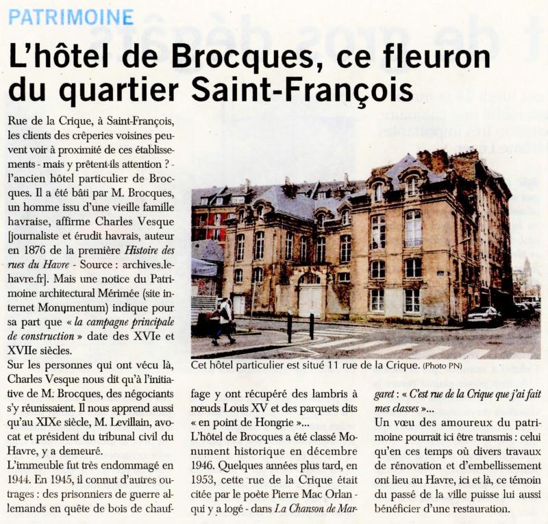 Havre - Le Havre - Hôtel de Brocques (Saint-François) 2020-064